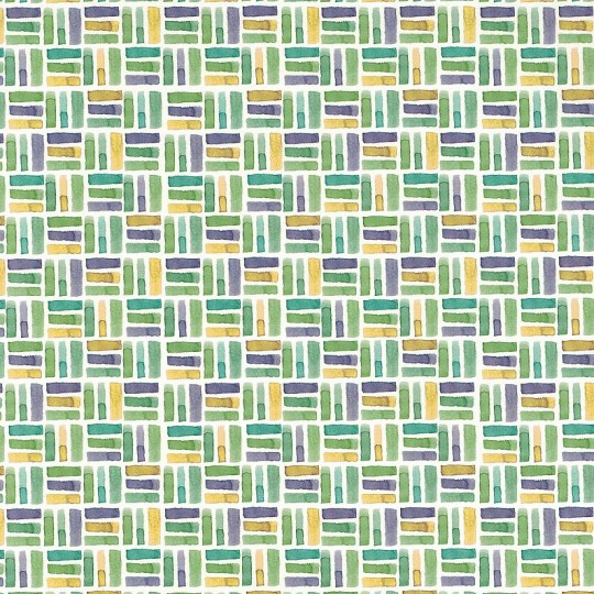 Watercolor Basket Weave Geometric Italian Paper ~ Tassotti