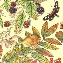 Botanicals and Berries Italian Paper ~ Carta Varese Italy
