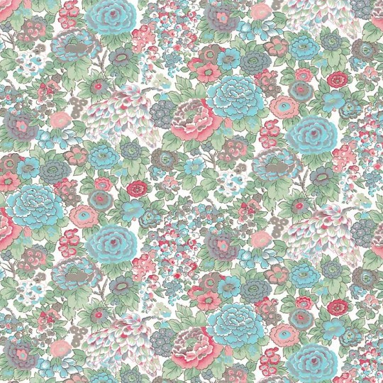 Blue Country Floral Italian Paper ~ Carta Varese Italy