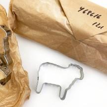 """Lamb Cookie Cutter ~ Sweden ~ 2-1/2"""" tall"""
