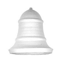 "1 Large Spun Cotton Bell 2 1/4"" ~ Czech Republic"