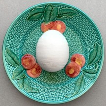 """1 XL Spun Cotton Egg for Easter Crafting ~ 2-7/8"""""""