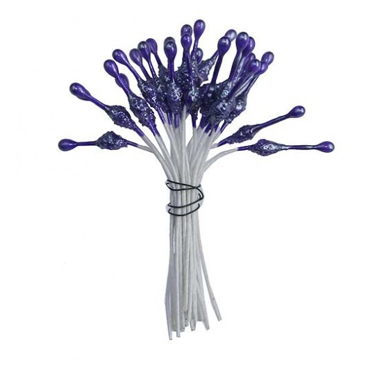 Purple Fantasy Specialty Flower Stamen ~ Germany