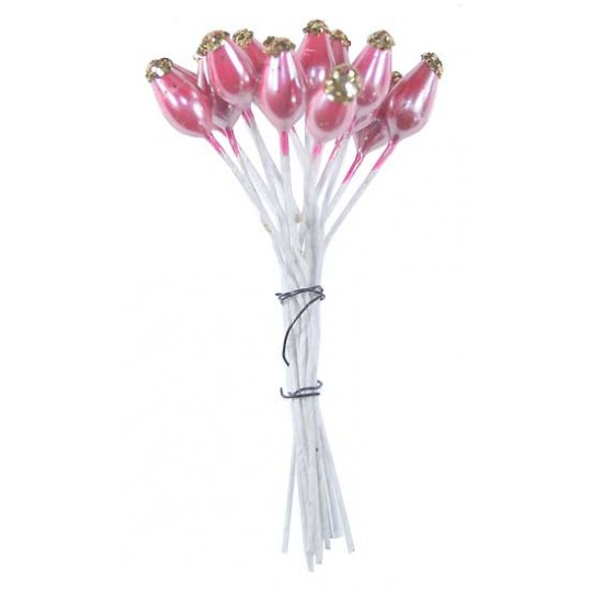 Pearlescent Peach Bridal Stamen ~ Germany