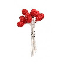 Textured Red Berry Stamen ~ Germany