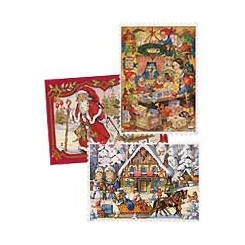 Advent Calendars from Europe ~ Small and Petite Sizes