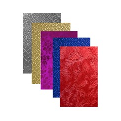 Embossed Foiled Metallic Craft Paper