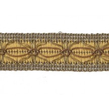 Old Store Stock Antique Gold and Golden Yellow Extra Fancy Trim ~ Vintage