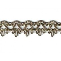 Old Store Stock Antique Gold Scalloped Trim ~ Vintage