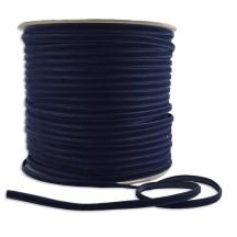 "Tiny Velvet Ribbon Trim in Navy ~ 1/8"" wide"