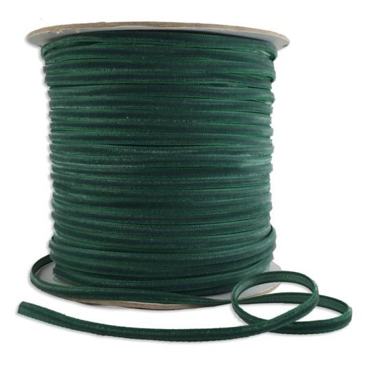 "Tiny Velvet Ribbon Trim in Spruce Green ~ 1/8"" wide"