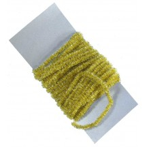 Maize & Gold Chenille Sparkle Cording ~ 5 yards