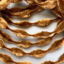 "2-1/2"" Bump Chenille in Light Brown ~ 1 yd."