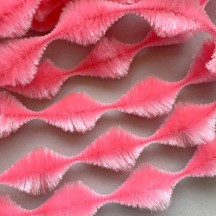 "Jumbo 2-3/4"" Bump Chenille in Light Pink ~ 1 yd."