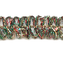 Old Store Stock Looped Mixed Tinsel Trim~ Vintage