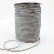 """Tiny Velvet Ribbon Trim in Dove Grey ~ 1/8"""" wide"""