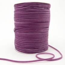 "Tiny Velvet Ribbon Trim in Dusty Lilac ~ 1/8"" wide"