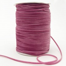 "Tiny Velvet Ribbon Trim in Dusty Pink ~ 1/8"" wide"