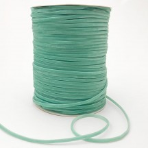 "Tiny Velvet Ribbon Trim in Soft Aqua ~ 1/8"" wide"