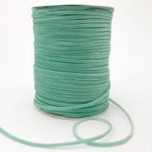 "Tiny Velvet Ribbon Trim in Soft Aqua ~ 1/8"" wide"
