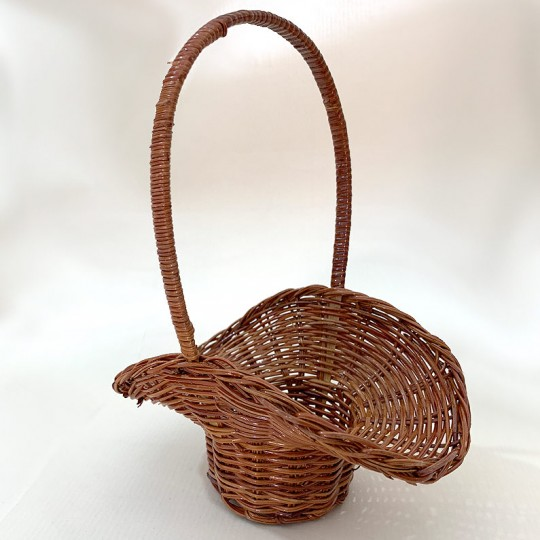 Small Wicker Basket for Holiday Crafts