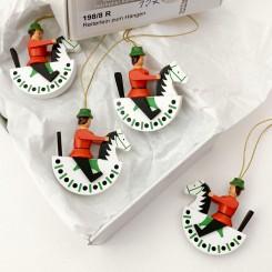 Erzgebirge Wooden Figures, Ornaments, Repair Supplies