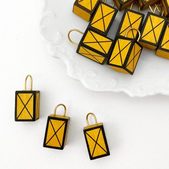 Miniature Wooden Hand Lantern ~ Made in Erzgebirge Germany ~ Repair Supply