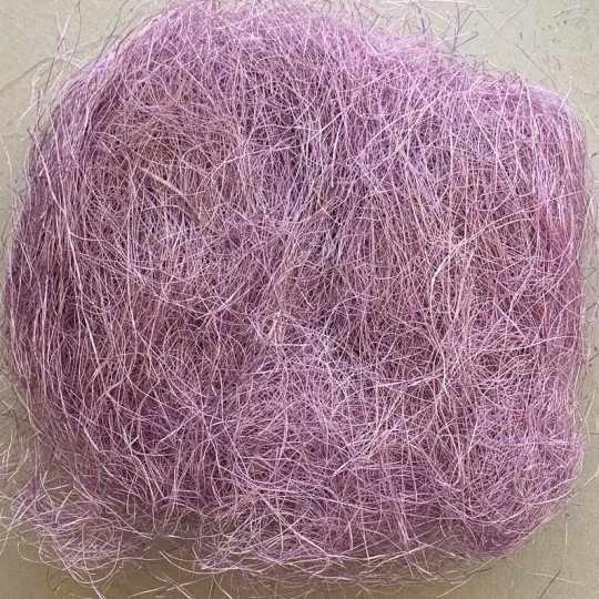 Sisal Easter Grass for Baskets and Crafts ~ Lilac Purple