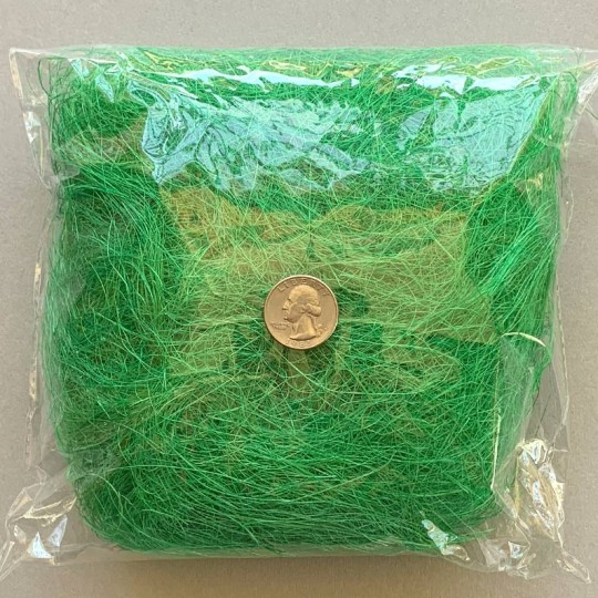 Sisal Easter Grass for Baskets and Crafts ~ Green