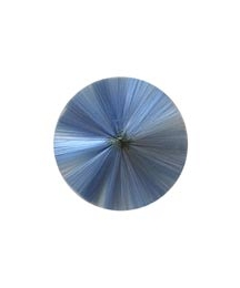 "3"" Spun Glass Halo ~ Blue"