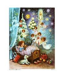 Christmas Dreams Vintage Style Advent Calendar
