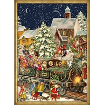 Christmas Train Victorian Style Advent Calendar