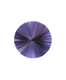 "3"" Spun Glass Halo ~ Purple"