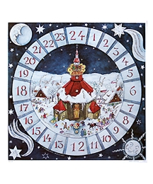 Village Cathedral Square Advent Calendar ~ Germany