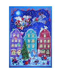 European Village Square Advent Calendar ~ Germany