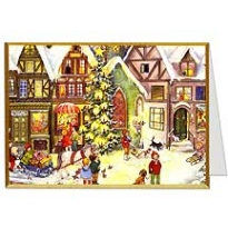 Village Tree Christmas Card ~ Germany ~ New for 2012