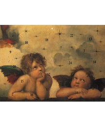 "Raffael's Angels Advent Calendar from Austria ~ 11-1/4"" x 8-1/4"""