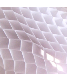 Old Fashioned Honeycomb Paper in White ~ 1 Sheet
