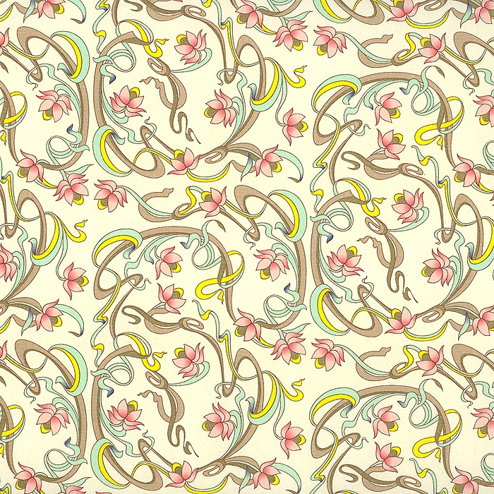 Art Nouveau Wrapping Paper