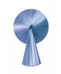 "3"" Spun Glass Halo with Tail ~ Blue"